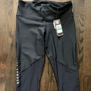 NEW Under Armour Black Leggings Size Med & Lg